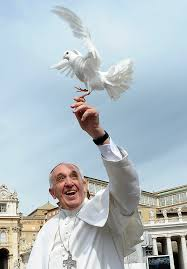 Francis and dove