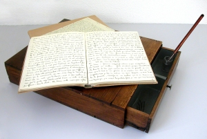Writing desk of Therese de  Liseieux