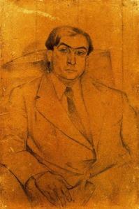 Juan Gris - Portrait de Pierre Reverdy